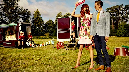 Giffords Circus joins forces with Ted Baker for Spring/Summer collection