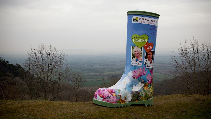 The Truth Behind The Giant Welly #WHERESWELLY