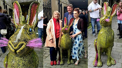 The Kings Head Launches The Latest Addition To Cirencester's Hare Festival