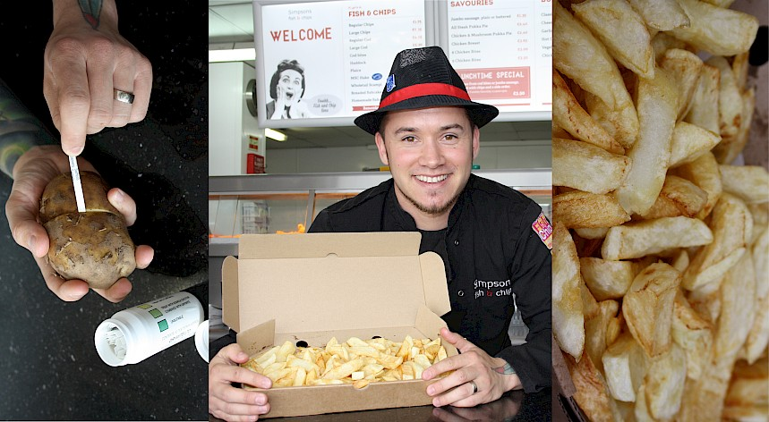 Gloucestershire Chippy Employs Extreme Measures To Create The Perfect Chip