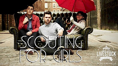 Scouting for Girls Headline Livestock Festival 2015