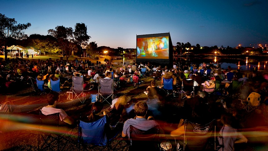 Cult Classics Screened Under The Stars