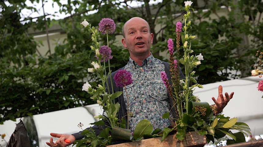 TV Florist Jonathan Moseley To Headline Grow Your Own Wedding Theatre