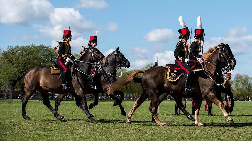King's Troop To Take Royal Three Counties Show By Storm