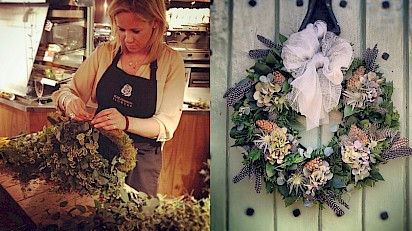 Eckington Manor Welcomes A Feast of Festive Florals
