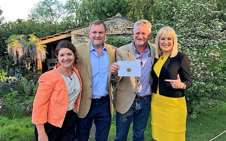 Hat Trick of Awards for Landform Consultants at 2018 RHS Chelsea Flower Show