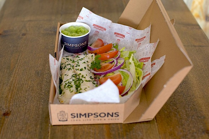 Award Winning Simpsons Fish & Chips Launches 'Sin Free Supper'