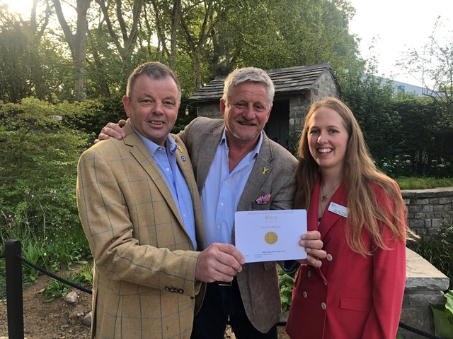 Top accolade for 10th Welcome to Yorkshire Garden at RHS Chelsea Flower Show