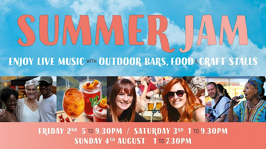 Three's the magic number - Summer Jam at The Brewery Quarter adds extra day!